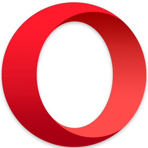 Opera logo - Download TextingHouse for Opera