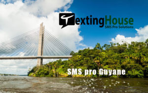SMS pro Guyane pont sur l'Oyapock