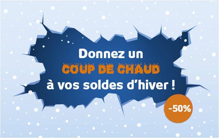 Coup de chaud sur vos soldes d 39 hiver avec une campagne sms - La date des soldes d hiver ...