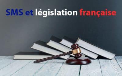 SMS et législation française