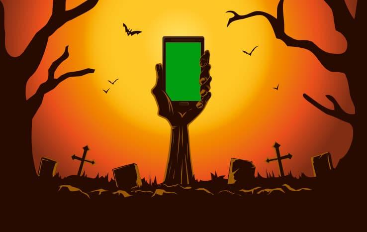 sms & halloween