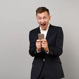 Intérêt suscité par une campagne SMS